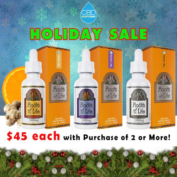 Roots of Life Holiday Sale