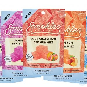 Smokiez Sour CBD Gummiez 250mg