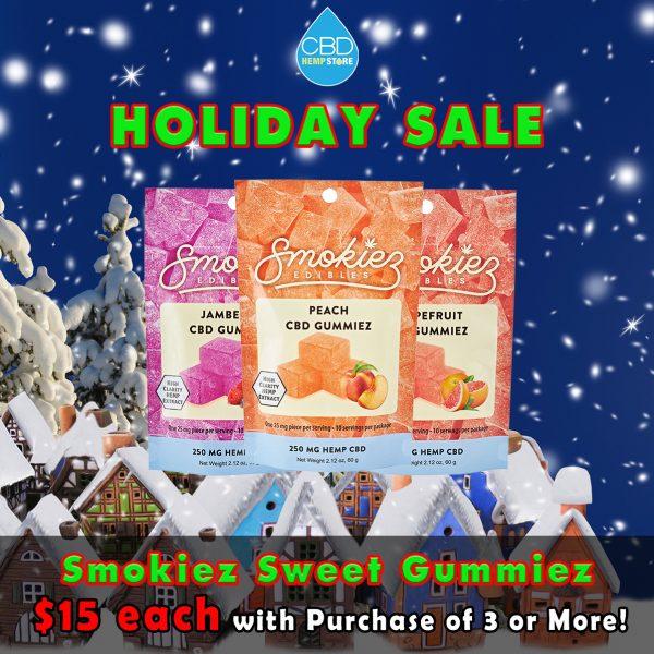Smokiez Holiday Sale