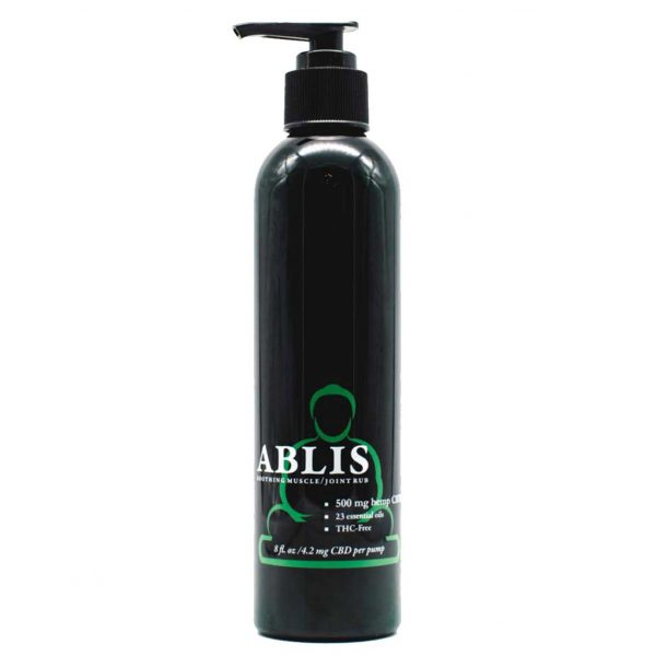 ABLIS SOOTHING MUSCLE JOINT RUB CBD