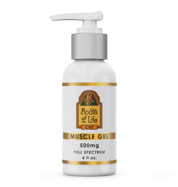 Roots of Life CBD Muscle Gel 500mg