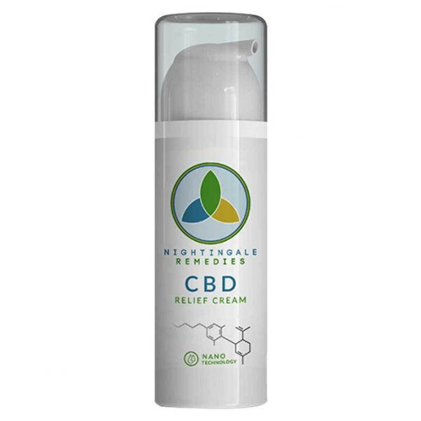 NIGHTINGALE REMEDIES CBD RELIEF CREAM
