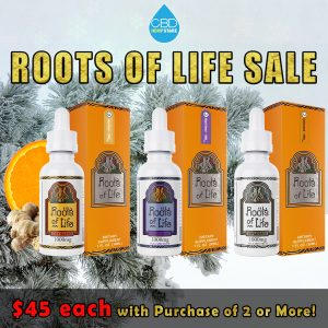 Roots of Life CBD Drops 1000mg