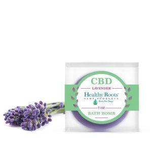 Healthy Roots Bath Bomb Lavender