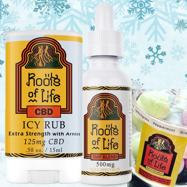 Roots of Life Holiday Bath Bomb Gift Pack