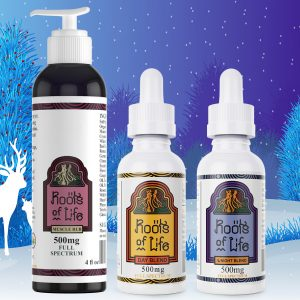 Roots of Life Holiday CBD Drops Bundle