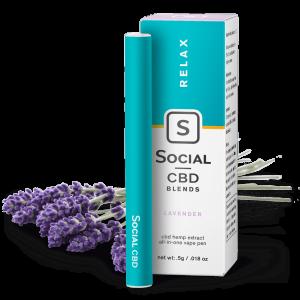 Social CBD Vape Lavender