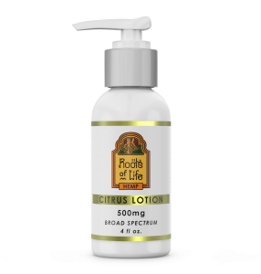 Roots of Life Hemp Citrus Lotion 500mg