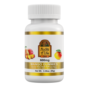 Roots of Life Mango CBD Gummies 600mg