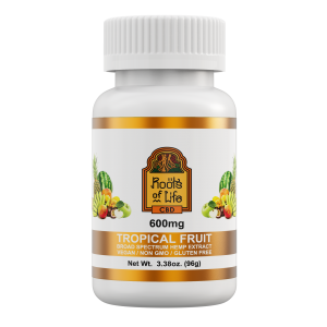 Roots of Life Tropical Fruit CBD Gummies 600mg