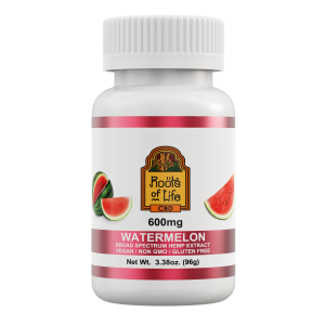 Roots of Life Watermelon CBD Gummies 600mg