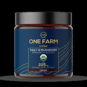 One Farm Daily 8 Mushroom Immunity Boost